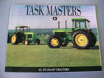 John Deere 2555, 2755, 2955, 3055, 3255 Tractor Brochure 20 Pages