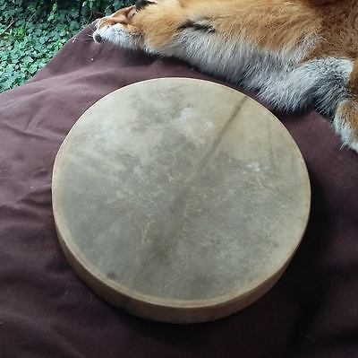 Real leather Shamanic drum with drumstick (35cm) -30% Summer Action!!!