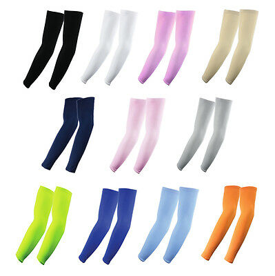 5 Pairs Cooling Arm Sleeves Cover UV Sun Protection Outdoor Sports THE ELIXIR