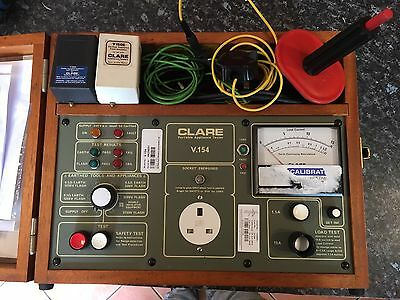 Clare Electrical Safety And Function Tester v.154 PAT