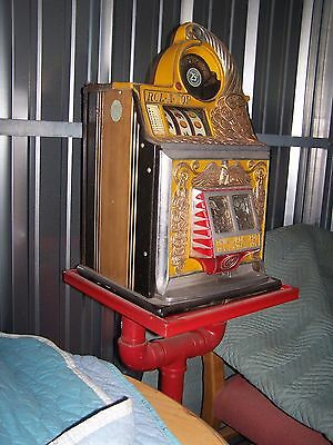 Antique Watling 25c Rol-A-Top Slot Machine