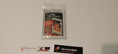 Ultra Pro Screw Down One Touch UV 130pt Gold Rookie Card Holder Hard Plastic