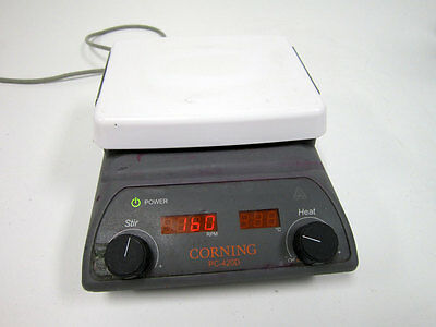 """Corning Pc-420D Stirring Hot Plate With Digital Display 5 X 7"""""""