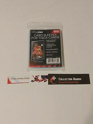 "Ultra Pro - Lot of 3 Pack of 100 - Extra Thick Card Soft ""Penny"" Sleeves 130pt"