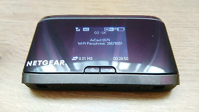 NETGEAR AirCard 762S 100MBPS 4G LTE MOBILE BROADBAND WIFI EE unlocked simfree