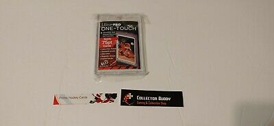 Ultra Pro Screw Down One Touch UV 75pt Card Holder Hard Top Loader