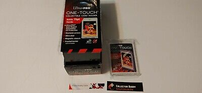 Lot Box 25 of Ultra Pro Screw Down One Touch UV 75pt Card Holder Top Loader