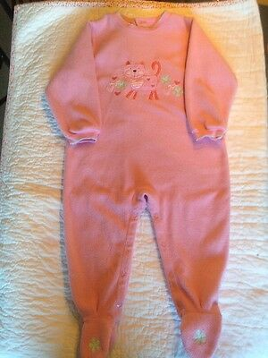 Pumpkin Patch age 2 Girl's All-in-one Sleepsuit With Feet (12-24mths)
