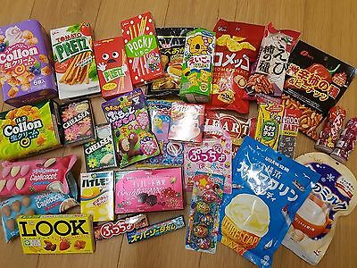 x5 Japanese sweets-pick oyur own- Full size - 31 to choose from- Free shipping