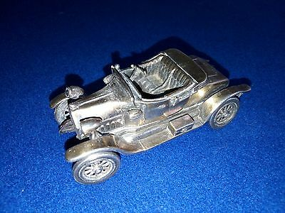 MACCHINA FIAT Argento 800 925 miniature (solid sterling silver)