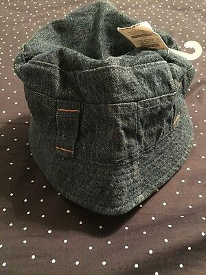 NEW CUTE Boys Summer Bucket Hat Denim Size 12 Months Summer Hat