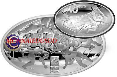 10 Euro Argent France 2015 BE - Rugby World Cup