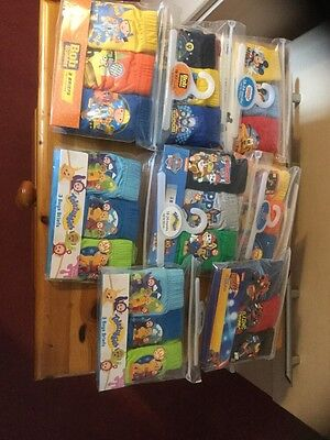 Bundle 24 pairs boys briefs age 18-24 month mixed themes all new .