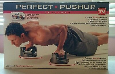 The Original Perfect Pushup [2011 Edition] (New + Sealed in Box w/Small Tears)