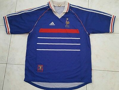 maillot de football de l'équipe de France 98