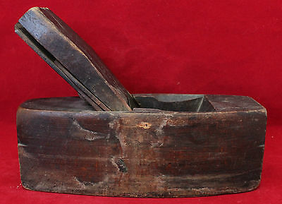 Antique Carpenter's Wood Hand Plane - No Maker's Marks