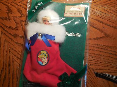 "Disney Holiday Stocking Princess ""cinderella"" An Avon Exclusive By Mattel"