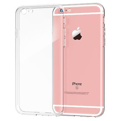 iPhone 6s CaseSplaks [Clear] Shock-Absorb Case with Dust-Proof Plugs and Came...
