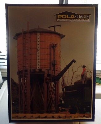 LGB/ POLA 923 US/American Wooden Water Tower Building Kit *G-Scale* NEW