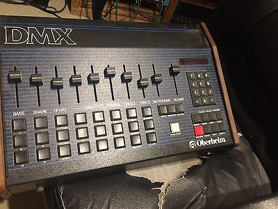 Oberheim Dmx Drum Machine. MIDI Kit.