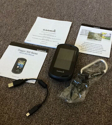 Garmin Oregon 600 Handheld GPS | 010-01066-10 | EXCELLENT CONDITION