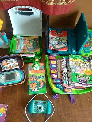 lot of vtech and educational toys