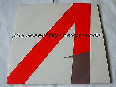 The Assembly - Never Never - Mute 7""
