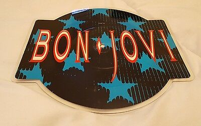 "Bon Jovi - You Give Love A Bad Name - 10"" Vinyl Shaped Picture Disc"