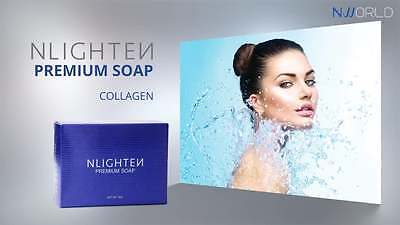NWORLD NLIGHTEN PREMIUM BEAUTY BAR SOAP with ARGAN OIL, ALOE VERA & COLLAGEN 90g