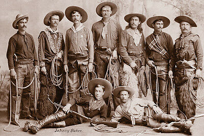 New 6 X 4 Photograph American Us Wild West Cow Boys 11