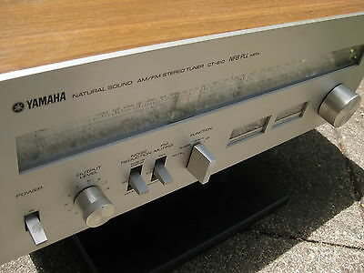✔ Yamaha CT-810 Natural Sound FM/AM Stereo Tuner NFB PLL MPX