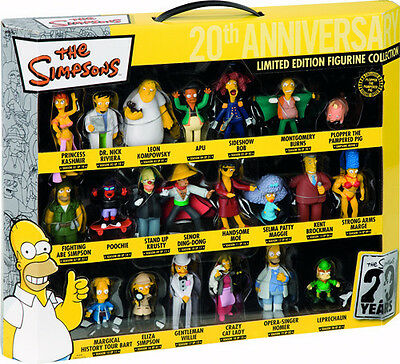 THE SIMPSONS Figurine Collection, 21 Figuren, Limited Edition 20th Anniversary
