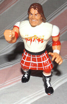 Hasbro WWF Wrestling Figure ROWDY RODDY PIPER 1990s Action Rare Toy WWE hotrod