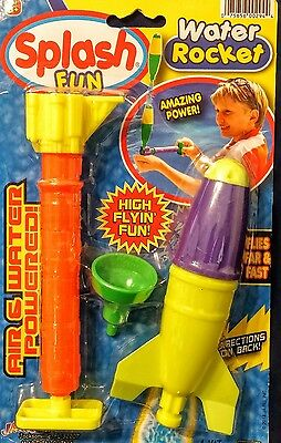 WATER ROCKET (Air and water powered)