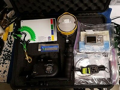 Sealife DC500 Underwater Camera, Flash, Pelican Case and Accessories. EJH-126