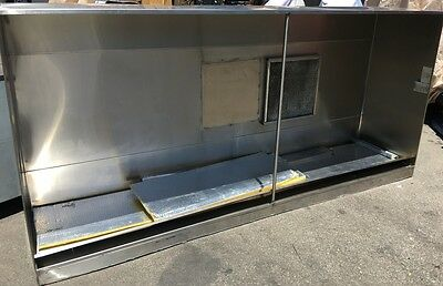 "Captive-Aire 108"" x 48"" Type 2 Exhaust Hood Stainless #6548 Commercial NSF ETL"