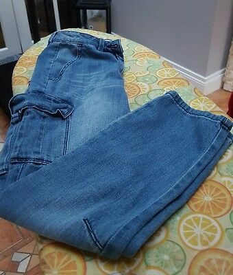 Ladies Cropped Tapered Next Jeans. Size 6