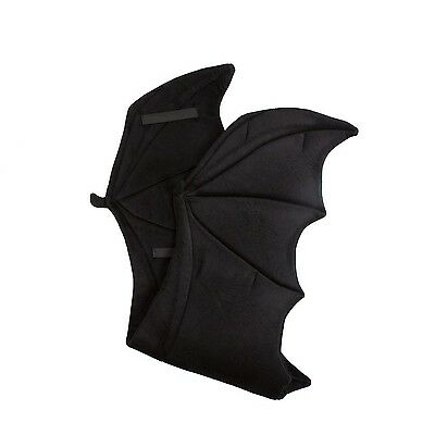 Plush Black Bat Wings for Kids Cosplay, Pretend Play or Zoo Animal Party Cost...