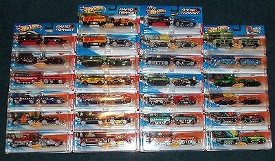 Hot Wheels Rapid Transit Trains - Entire Collection! - 26 Different Trains - New