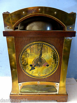 Stunning Old Arts & Crafts Liberty Style Clock - Art Nouveau - Extremely Rare