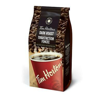 Tim Hortons Dark Roast Fine Grind Coffee 300g Ships FRESH From Canada  🇨🇦