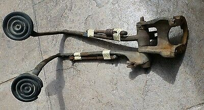 Original Vintage 1948 to 1952 ford f1 Clutch and Brake Pedals SCTA Flathead Ford