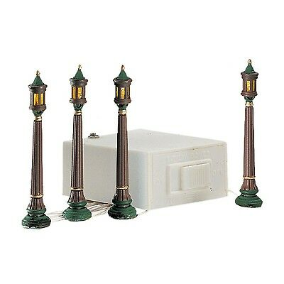 Department 56 Seasons Bay Park Street Lights - Set of 4 #53366