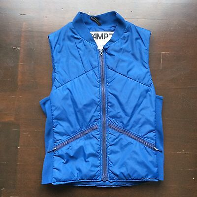 Vintage Camp 7 80s Blue Vest Mens Small Fits XS Unisex  USA