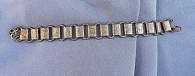 Antique Victorian Book Chain Bracelet W/o Catch Sold As Is