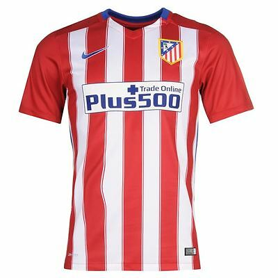 Nike Kids Boys Atletico Madrid 2015/16 Home Football Shirt New 10-12 Years Old