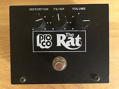 1991 Reissue ProCo Rat Distortion/Overdrive Pedal, LM308 Pro-Co Vintage Big Box