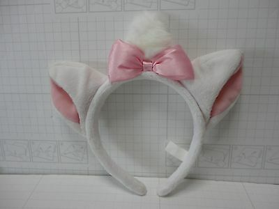 TOKYO DISNEY RESORT Headband MARIE Aristocat Costume BIG Ear Pink
