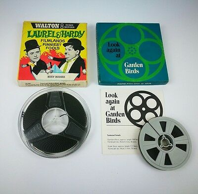 """RARE Laurel And Hardy in """"Busy Bodies"""" 8mm Film Reel by Walton 8 Home Movies"""