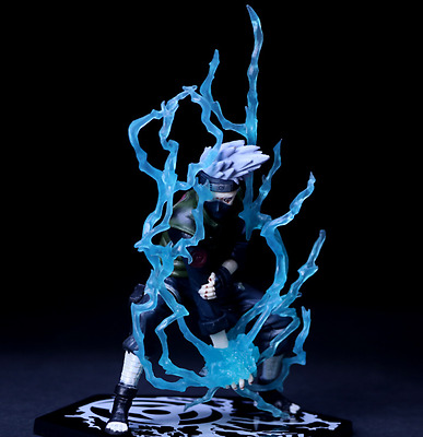 Naruto Toynami Hatake Kakashi  PVC Blade  Figure Figurine Collection